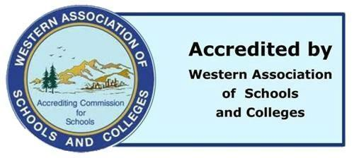 Accredited by the Western Association of Schools and Colleges