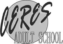 Ceres Adult School Logo